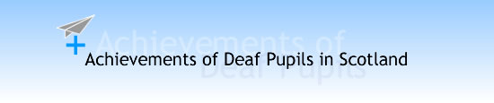 Achievements Of Deaf Pupils In Scotland